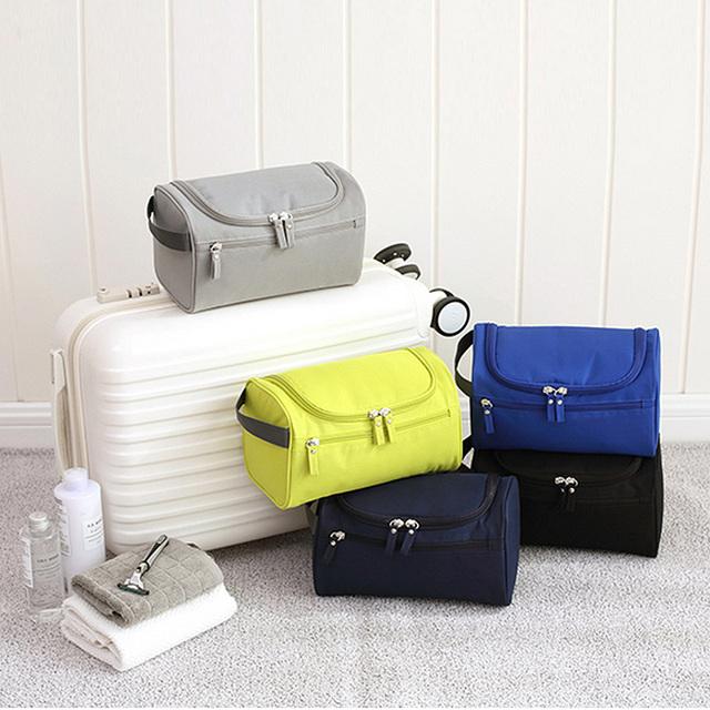 Large Waterproof Nylon Travel Bag for Cosmetics