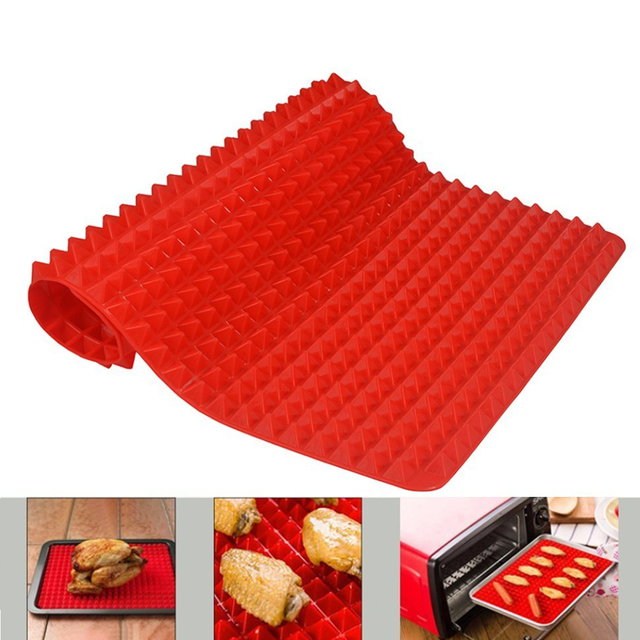 Kitchen Practical Pyramid Silicone Nonstick Baking Mat