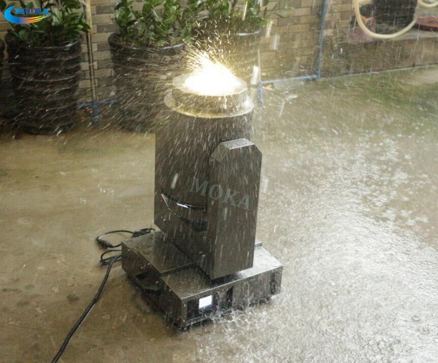 1 gab. Ūdensnecaurlaidīgs LED super staru kustīgas galvas - Tirdzniecības apgaismojums - Foto 6