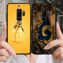 Yinuoda Phone Case For NFL Los Angeles Rams Samsung Galaxy S10 S9 8Plus S6 S7 Edge Carson Jared Goff Soft TPU Lite