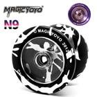Original Magicyo Ghost Hand Yo-Yo N9 Metal Fancy Athletics Professional Convolution Laser Laser Engraving Craft Yo-Yo