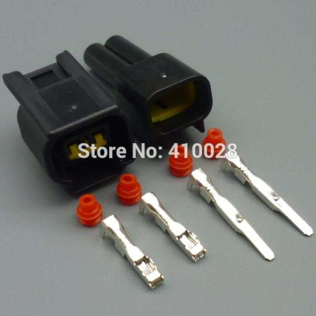 US $5 18 26% OFF shhworldsea 5/30/100set 2 3mm 2pin female male ignition  coil plug for ford high voltage auto wire connector FW C 2F B FW C 2M B-in