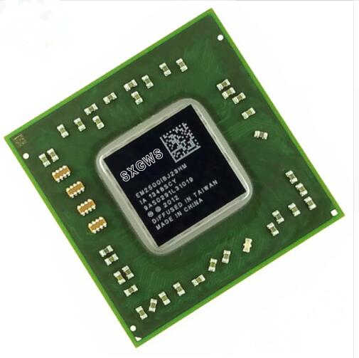 Free  shipping 1PCS 100% brand new and original EM2500IBJ23HM BGA Chipset with leadfree balls