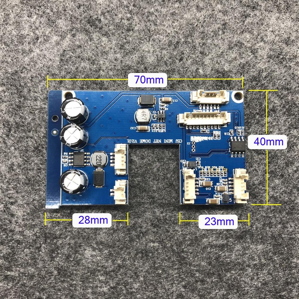 цена на Mini Dome PTZ IP Camera PCB Board Mother Board Module Replacement for 3 inch HD IP Camera 3X Optical Zoom Outdoor PTZ IP Camera