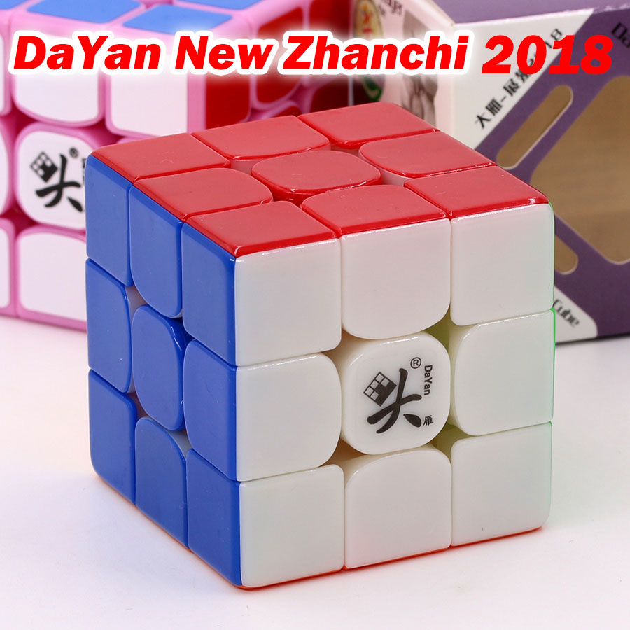 Magic Cube Puzzle Dayan New Zhanchi 2018 57mm 3x3x3 3*3*3 333 Easy Toys Gift Champion Professional Competition Twist Wisdom Club