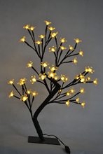 Free Shipping 18″ 48LED Blossom Cherry Tree Light  in mini Size, 3V Battery Type Mini cherry tree light wedding Table Decoration