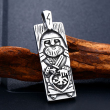 Stainless Steel Talisman Necklace