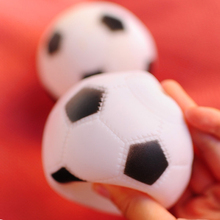 Football Funny Pet Toys For Dog Rubber Squeaky Ball Chew Toy Resistant Interactive Game Gourde Chien Products 50DC0004