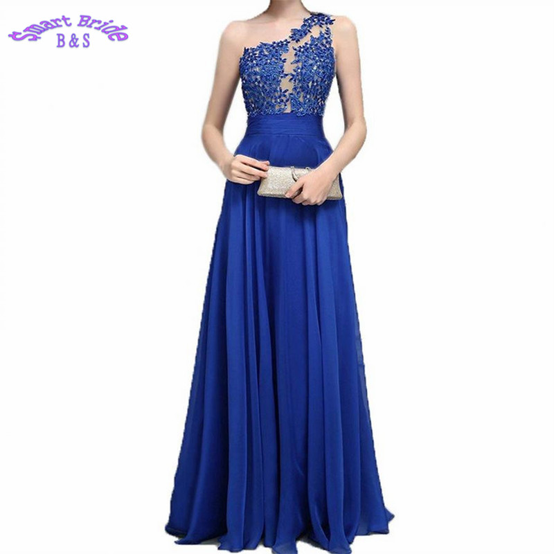 One Shoulder   Bridesmaid     Dress   A-line Lace Beaded Vintage Wedding Party Zipper Back Guest   Dresses   BD57