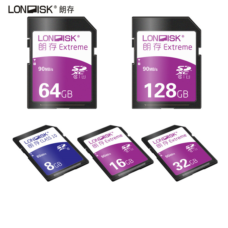 Londisk SD Card 32 gb Real Capacity 8GB 16GB 32GB 64GB 128GB Class10 UHS-1 Memory Card High Speed Memory SD Card For Camera