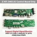 Z. VST.3463.A1 Sólo Tablero De Control Compatible Con la Señal Digital DVB-C DVB-T/T2 Mejor que V56 Lengua Rusa LCD