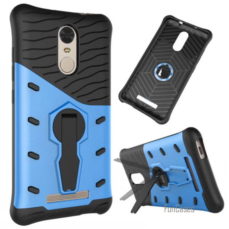 Case For Xiaomi Redmi note 3pro note 4 Cases Cover Style Shockproof for Xiaomi 5s Plus 5s Back Shell Hybrid Kickstand Function