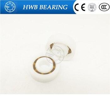 6008 POM (10PCS)  Plastic bearings 40x68x15mm Glass Balls 40mm/68mm/15mm