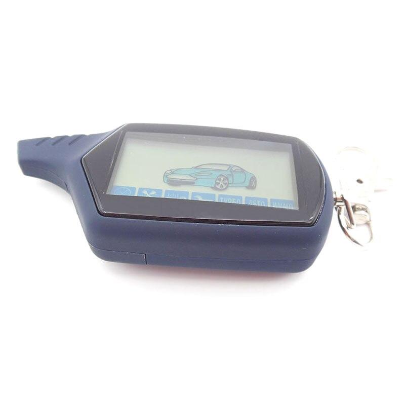 imágenes para Versión rusa A91 LCD mando a distancia para starline A91 remoto de coches LCD de dos vías sistema de alarma del coche envío gratis