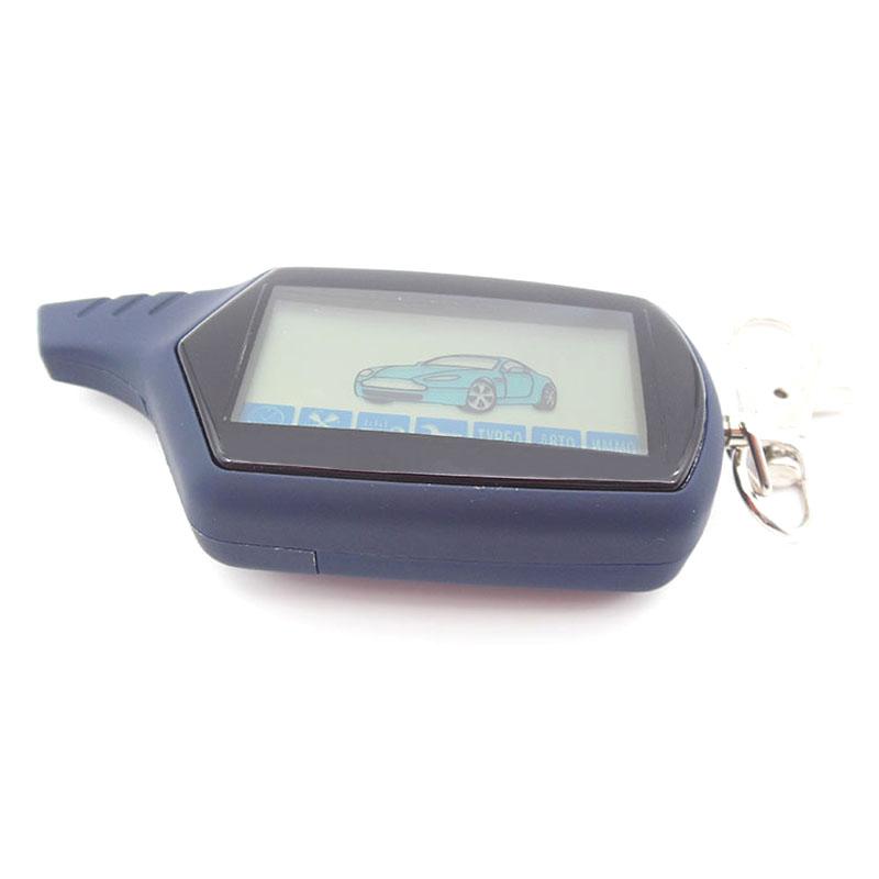 Prix pour Version russe A91 LCD à distance pour starline A91 voiture télécommande LCD à deux voies système d'alarme de voiture livraison gratuite