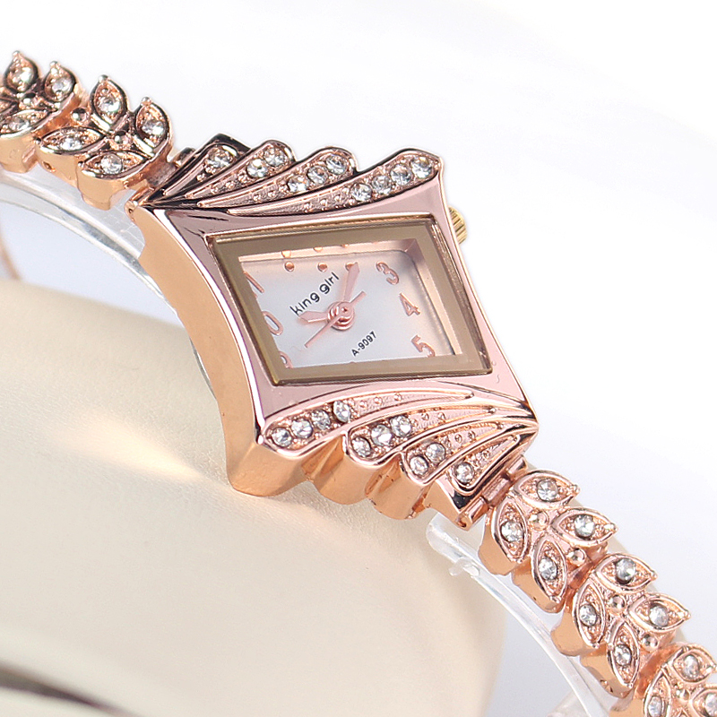 Rose Gold Crystal Rhinestone...