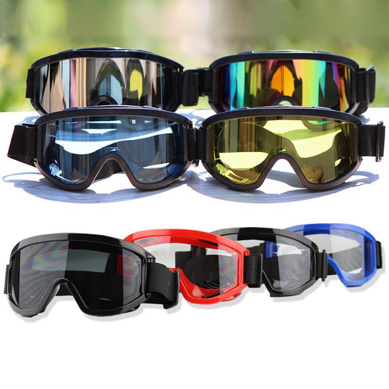 Brand New Winter Windproof Ski Skiing Glasses Goggles Outdoor Sports Glasses Ski Goggles Dustproof Motocross Cycling Goggles