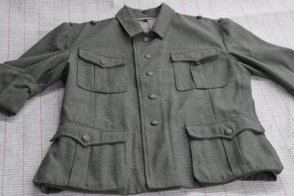 WW2 Allemands, M40 Uniforme. Top. Sur Mesure