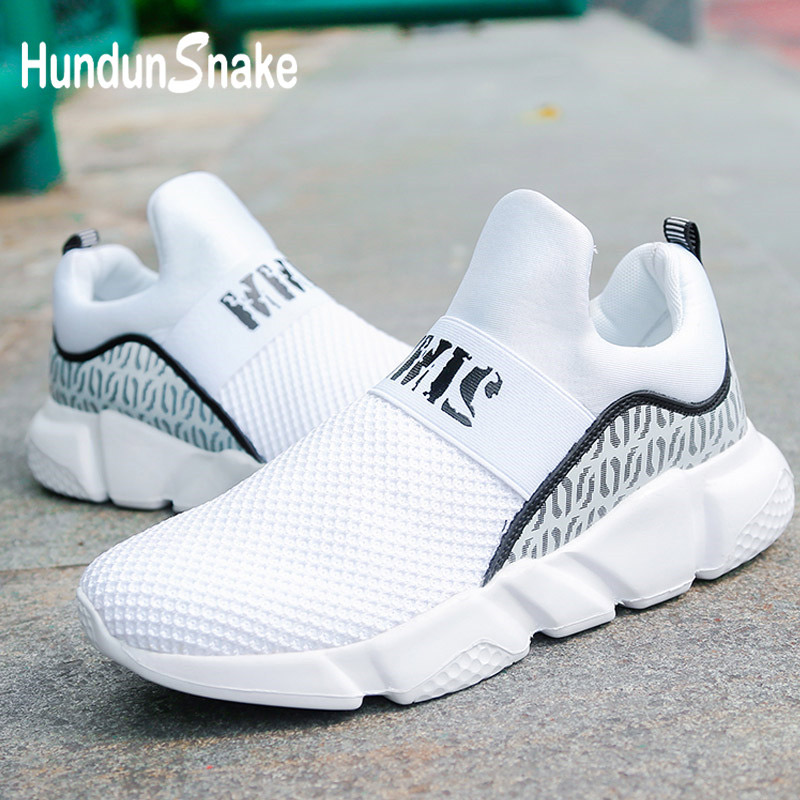 Hundunsnake Summer Men Running Shoes Sports Shoes Men Sport Shoes White Trainers Male Sneakers Man Krassovki Walk Slipony G-16