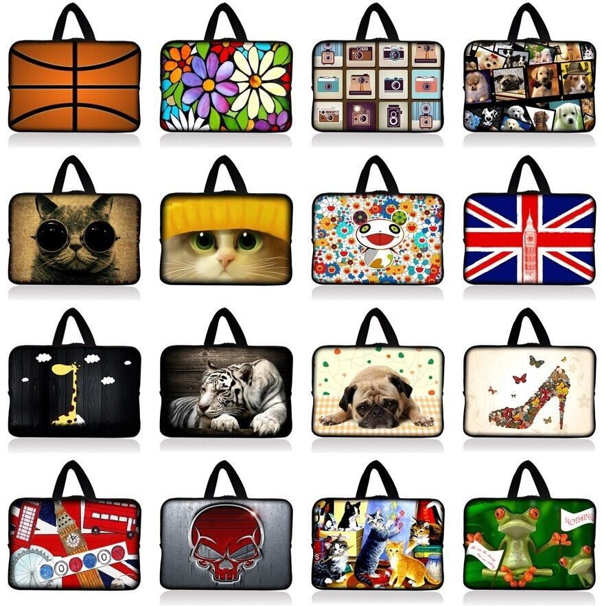 Fashion Soft Sleeve Bag Case For Apple Macbook Air Pro Retina 11.6 13.3 15.4 Inch Protective Laptop Bag/Sleeve For Asus 10 12 14