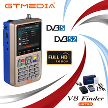 GTmedia V8 Finder DVB-S2/S2X Satellite Meter Satellite Finder satfinder better than freesat v8 finder SATLINK WS-6906 6916 6950 freesat v8 finder satellite finder ship from spain 1080p hd dvb s2 satlink ws 6950 mpeg 2 mpeg 4 vs satlink 3 5inch lcd screen