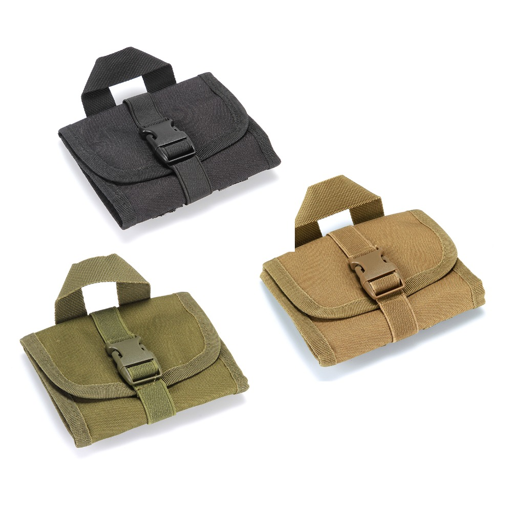 multi-functional tactics molle pouch bag 14 hole airsoft bandolier bags waist bag 3 color For MINI Bullet