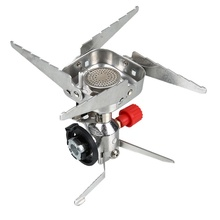 3500W Gas Stove Camping Stove Foldable Gas Stove Stainless Steel Outdoor Stove Portable Picnic Burners Furnace New