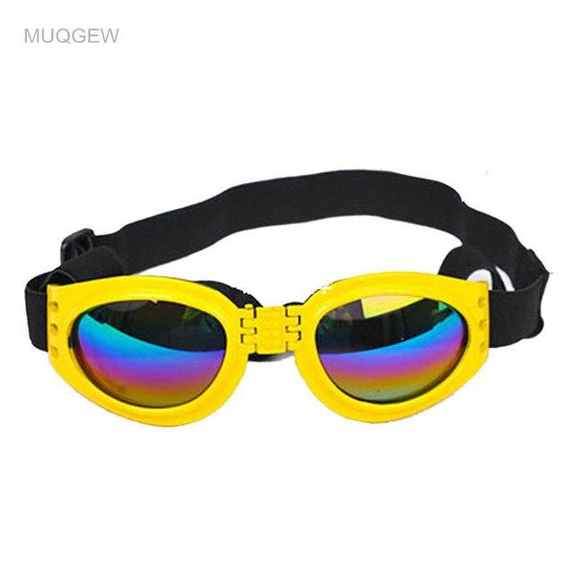 MUQGEW 2016 Nowe Atrakcyjne Pet Dog Okulary Wielobarwne Modny Water-Proof Boom Puppy Pet Dog Fajne Okulary okulary