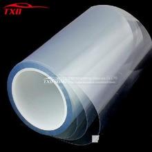 Rollo de pegatina protectora transparente para coche, lámina de vinilo de protección para pintura automática, 10/20/30/40/50/60x 152cm