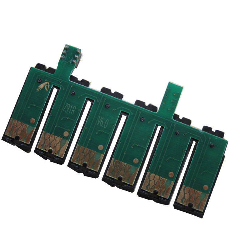 T0791 ciss permanent chip For <font><b>EPSON</b></font> Stylus Photo <font><b>1400</b></font> 1500W P50 Artisan 1430 <font><b>printer</b></font> image