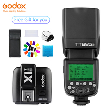 Godox TT685 TT685S Speedlite Flash Wireless TTL+X1T-S Transmitter Trigge for sony Camera  A7 A7S A7R II