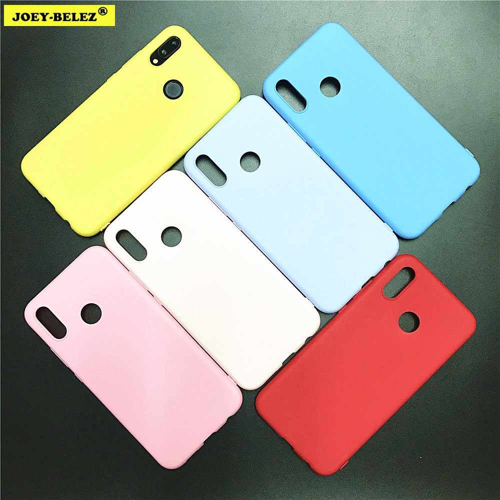 Candy Color Cases for Huawei Nova 3i P20 P9 P10 Mate 20 Lite Honor 10 9 Lite 7C 7A 8X P Smart Y5 Y6 Y9 2018 Soft Silicone Cover