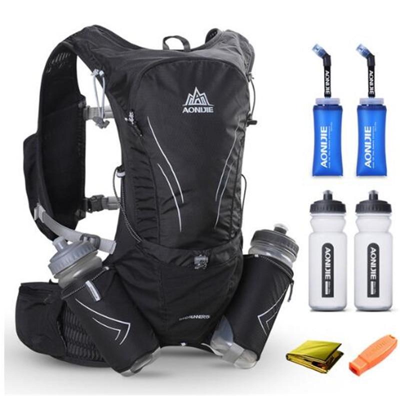 AONIJIE 15L course Marathon sac à dos gilet Pack sport léger hydratation sac à dos sac à dos pour femmes hommes