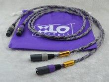Hi fi kabel audio podpis S3-2 wyróżniona na czas nieokreślony audio XLR kabel połączeniowy para 1 M