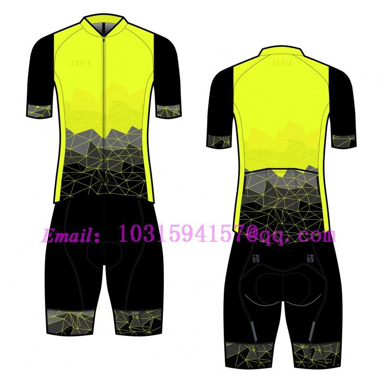diseño exquisito Precio de fábrica 2019 diseño elegante gobik team 2019 cycling skinsuit custom clothing suit kit speedsuit bike  set jumpsuit gear body wear ropa ciclismo triathlon 9d