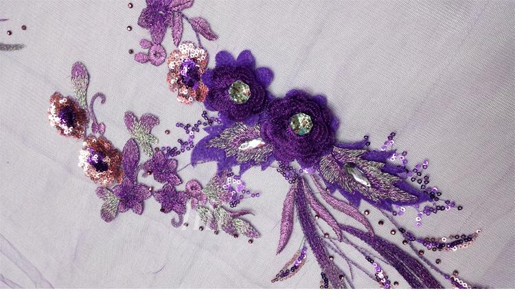 Gratis pengiriman menjahit pada 6 warna patch renda applique 40 * 20 - Seni, kerajinan dan menjahit - Foto 4