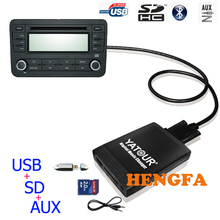 Yatour YT-M06 Digital  Music Changer USB MP3 AUX adapter For Honda Acura 2004-2011 Car Audio Radio Adapter Player
