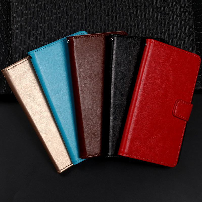 Flip leather case for Xiaomi Mi A1 A2 Lite fundas wallet style kickstand protective capa cover for Xiomi Redmi Y1 A2Lite Y1Lite in Flip Cases from Cellphones Telecommunications