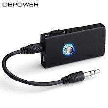 DBPOWER Bluetooth Transmisor y Receptor Inalámbrico Transmisor de Música Estéreo A2DP de Música Audio Dongle del Adaptador Para iPod TV Mp4 PC