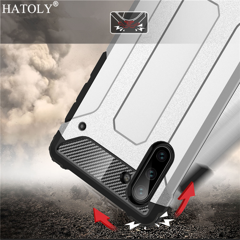 For Samsung Galaxy Note 10 Case Silicon TPU Armor Hard PC Phone Cover