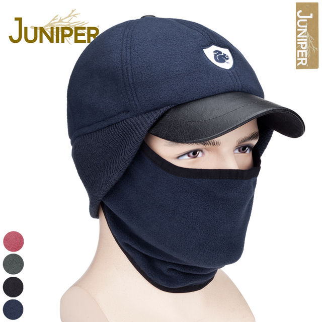 f1416ad9274 Juniper outdoor male hat pocket hat female winter hat cap ear protector  windproof warm hat ride
