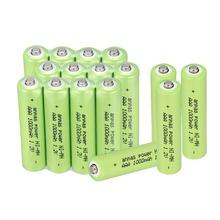 4 8 12 16Pcs Anmas Power 1 2V AAA Batteries 3A 1000mAh Rechargeable Battery ni-mh batteries AAA battery rechargeable cheap Batteries Only Bundle 4
