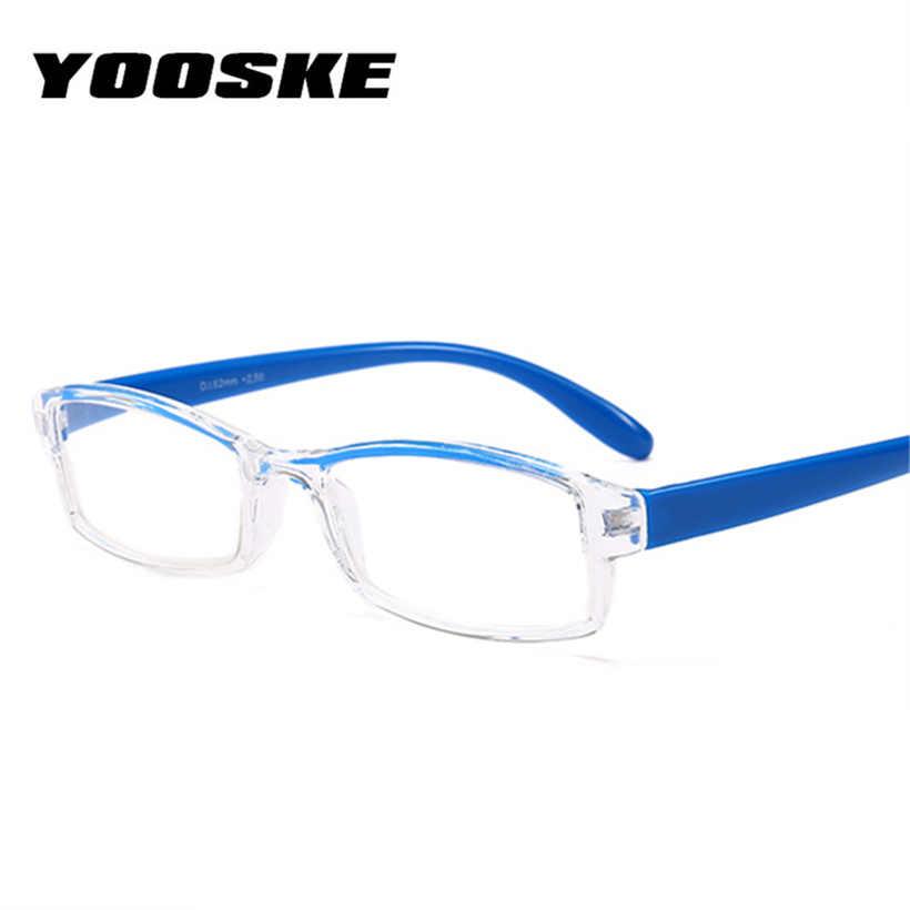 63b7222e800b ... YOOSKE Small Reading Glasses Women Resin Clear Lens Presbyopic  Eyeglasses Men Hyperopia Spectacle Diopter +1.5 ...