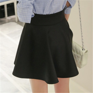 Image 5 - Mùa Hè Hàn Quốc Váy Nữ Gợi Cảm Mini Jupe Femme Váy Xếp Ly Faldas Cortas Saia Vũ Jupe Phối Voan Váy Đáng Etek tutu