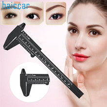 New Arrival HAICAR 1PC Microblading Reusable Makeup Measure Eyebrow Guide Ruler Permanent Tools Pretty Tattoo accesories