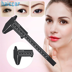 Image 1 - New Arrival HAICAR 1PC Microblading Reusable Makeup Measure Eyebrow Guide Ruler Permanent Tools Pretty Tattoo accesories