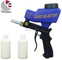 LEMATEC Sand Blasting Gun Sandblaster With Two Sand Abrasives Sandblasting Gun Taiwan Made High Quality Portable