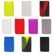 High Quality Colorful Silicone Case Sleeve Protective Covers Skin For Voopoo DRAG TC 157w Box Mod(China)