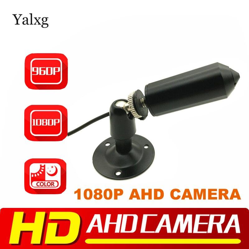 Yalxg Mini Bullet 1080P 2.0MP Full HD AHD Camera SONY IMX323 CMOS Sensor StarLight 0.0001 Lux Security CCTV Camera 3.7mm Lens yalxg mini bullet 960p 1080p hd ahd camera sony imx 225 imx323 cmos sensor starlight 0 0001 lux security cctv camera 3 7mm lens