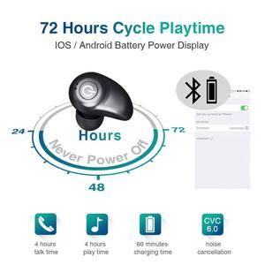 Image 3 - TWS i7 Blutooth のイヤホン IPX5 防水スポーツワイヤレスイヤフォン 3D ステレオサウンドワイヤレスヘッドフォンとの電話のため充電ボックス
